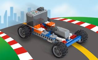 Brixology 004 Car Race Bricks B